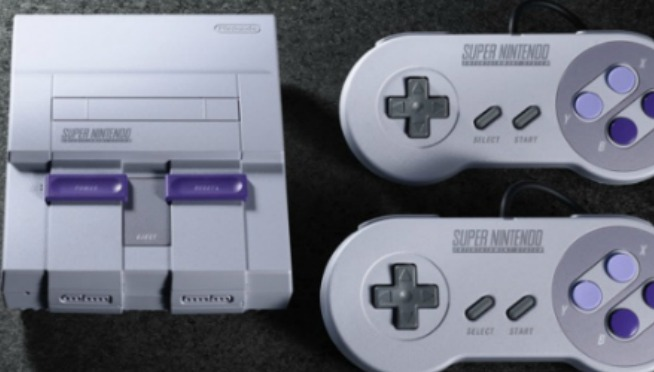 SUPER NINTENDO RETURNS! SNES Retro console has a release date