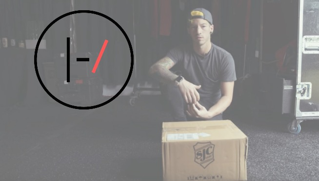 WATCH: Josh Dun reveals his custom snare drum