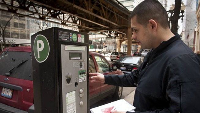 Chicago drivers pay more for downtown street parking than in any other U.S. city