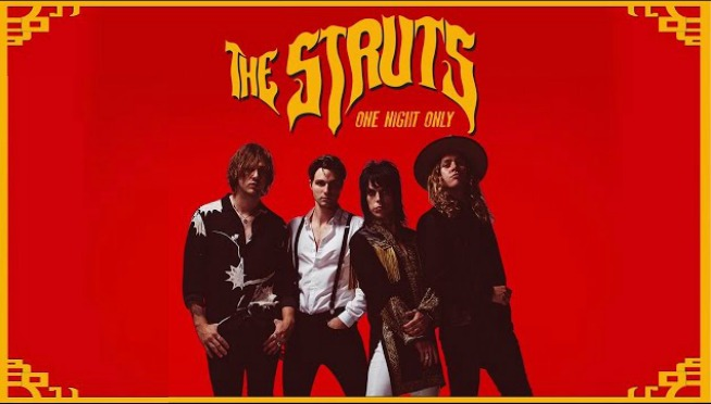 NEW STRUTS!! CHECK OUT – ONE NIGHT ONLY