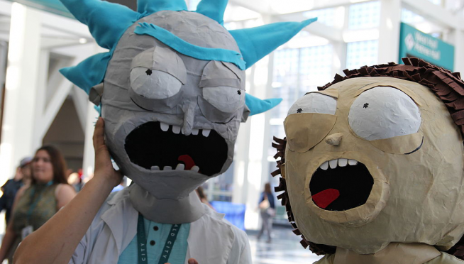 New Rick & Morty Trailer Is…Trippy.  Naturally.
