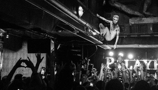 Queued Up Artist Showcase with Palaye Royale