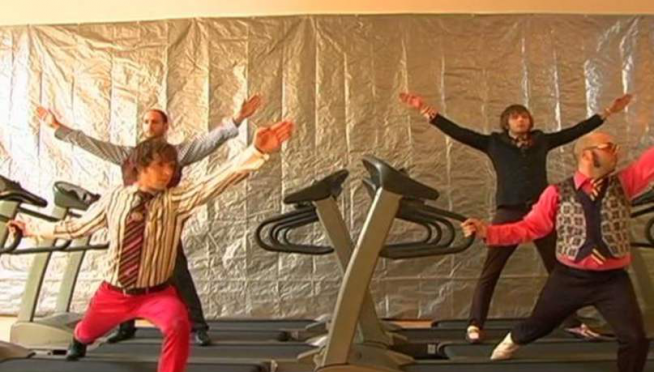 FLASHBACK:  That Treadmill Video for 'OK Go'