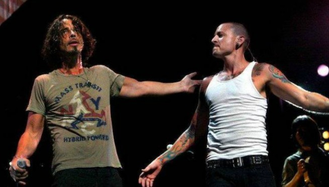 WATCH: Hunger Strike Chris Cornell (Audioslave) Ft. Chester (Linkin Park)​