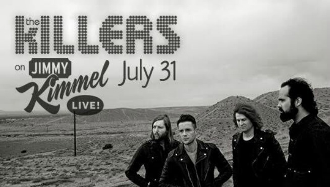 The Killers take over the Las Vegas strip on 'Jimmy Kimmel'