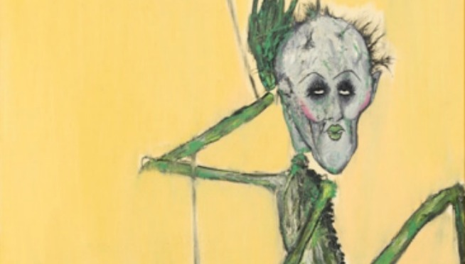 See Some of Kurt Cobain's Never-Before-Seen Paintings