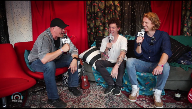 VIDEO:  Backstage at Lolla with Arcade Fire