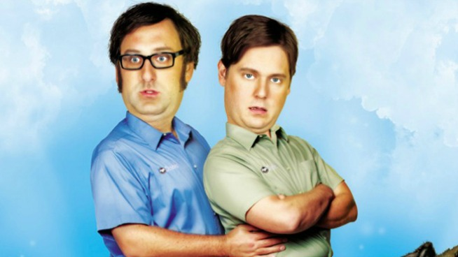 "Tim & Eric are running for President and ""Viss President"""