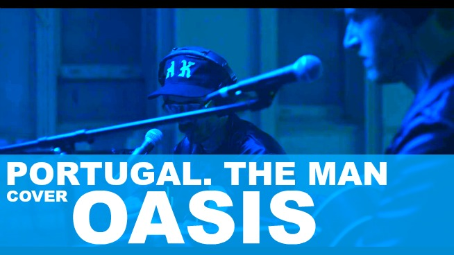 Watch Portugal. The Man play Oasis's 'Don't Look Back in Anger'