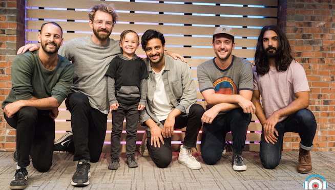Young The Giant in The Lounge