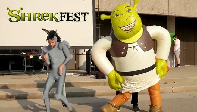 Shrekfest Where Irony Goes To Die