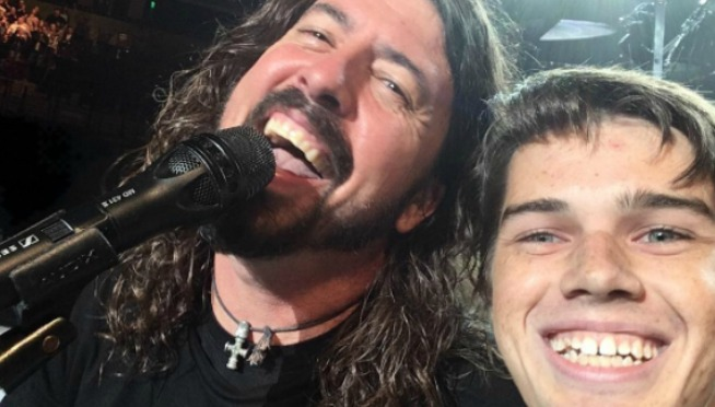 WATCH:  College Kid Boldly Drums w/ Foo Fighters on Queen Cover