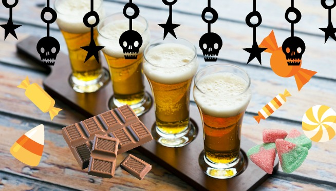 What Local Craft Beer Goes Best With Your Halloween Candy?