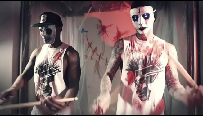 WATCH:  Travis Barker's Spooky Drumming…Is Scary Good.