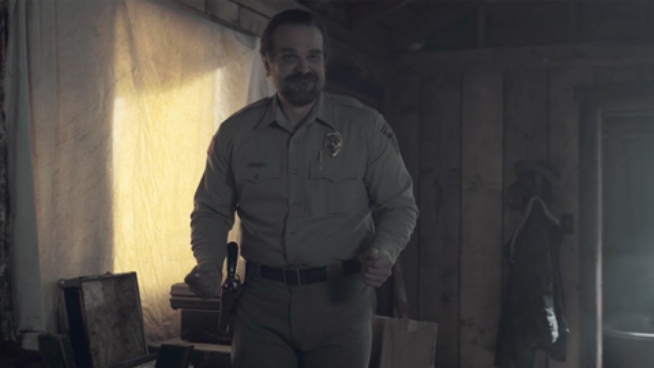 Watch Stranger Thing's Hopper dance to Panic! At The Disco