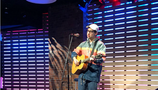 Watch BLEACHERS perform in the 101WKQX LOUNGE