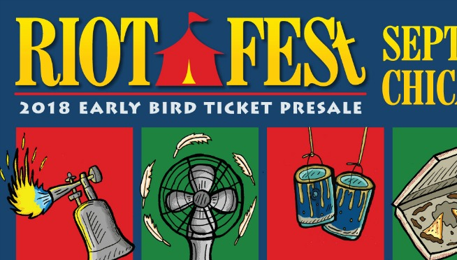 Happy Thanksgiving, Ya Filthy Animals! Riot Fest dates set for 2018, Pre-sale starts