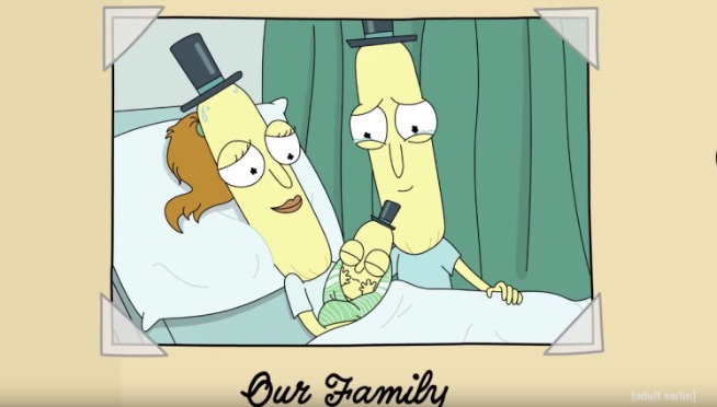 OOOO WE! Be Thankful & watch the new 'Rick & Morty' short