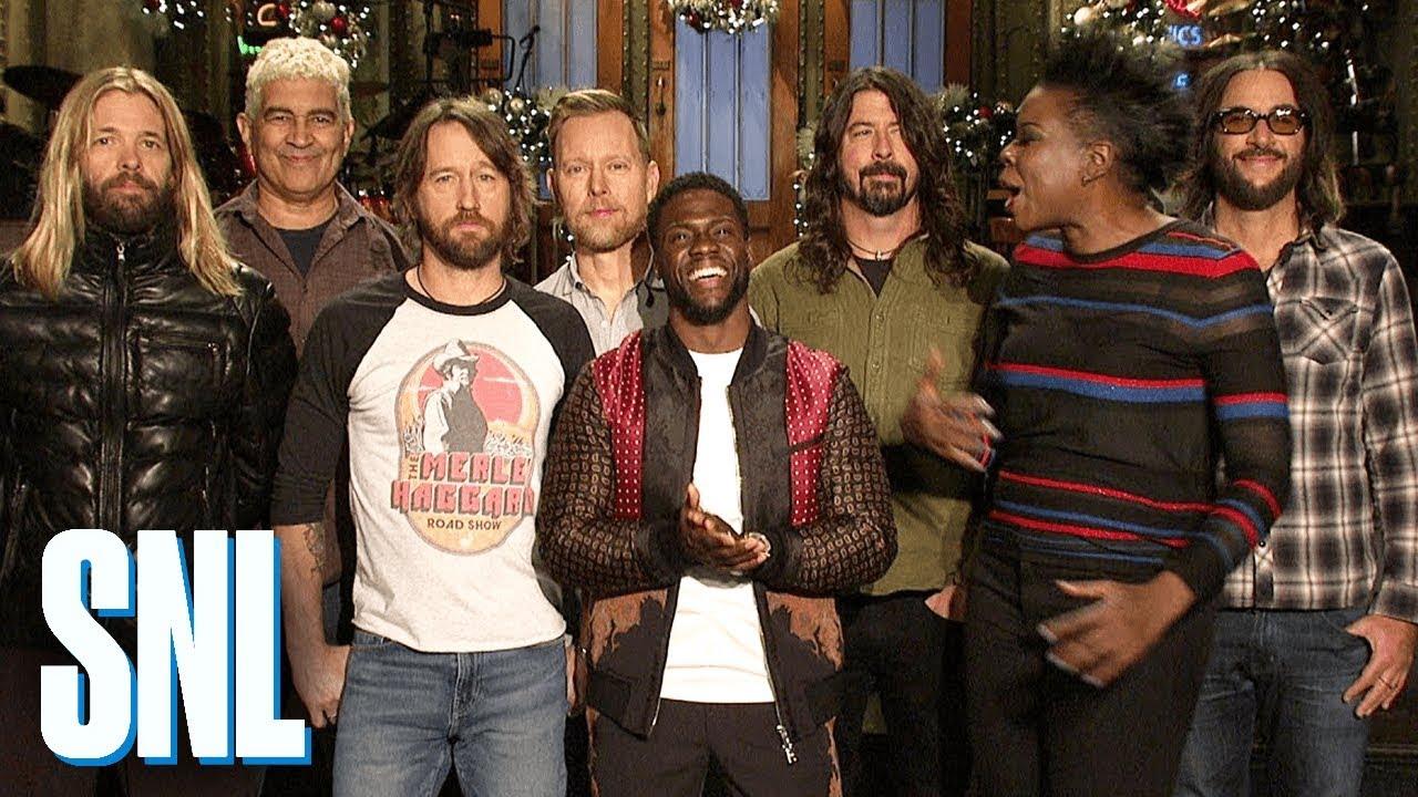 Foo Fighters & Kevin Hart rock 'Saturday Night Live' Tonight