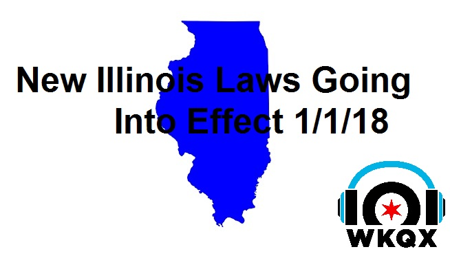 New Illinois Laws That Take Effect 1/1/18