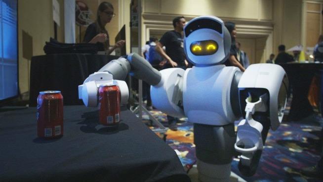 HEY ROBOT! Go get me a beer!