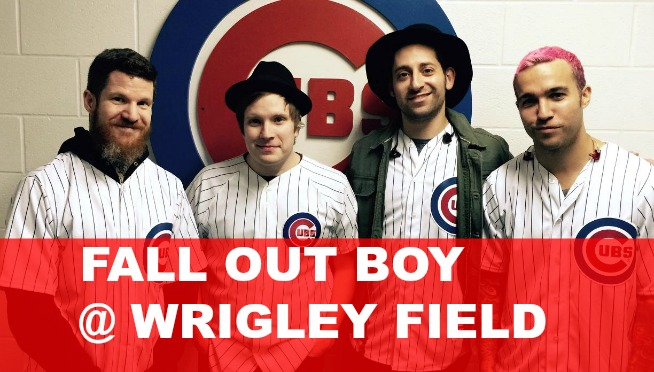 Fall Out Boy set to play Wrigley Field