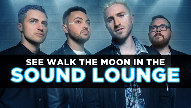 Watch WALK THE MOON in the LOUNGE