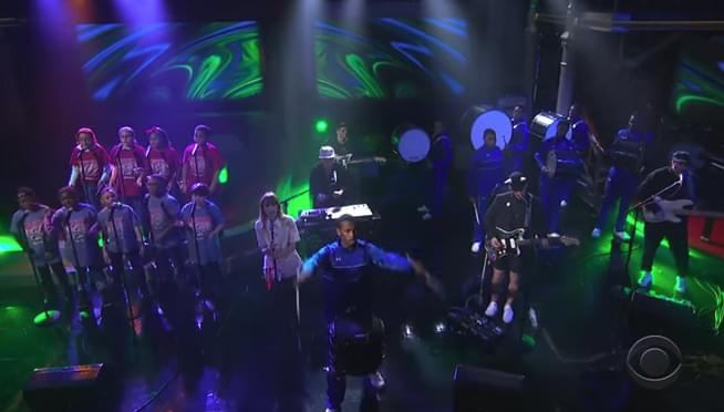Portugal. The Man on Colbert