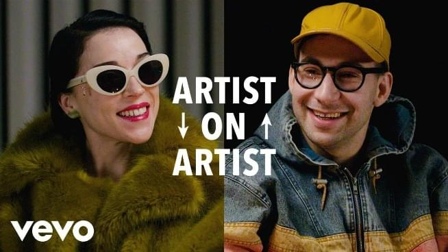 St. Vincent & Bleachers' Jack Antonoff talk butts, touring, & more