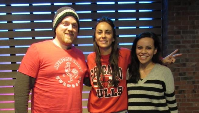 Amy Shark in The Lounge