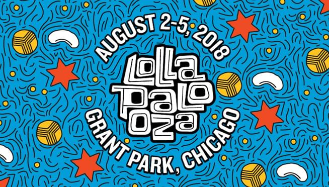 The Lollapalooza schedule is here!