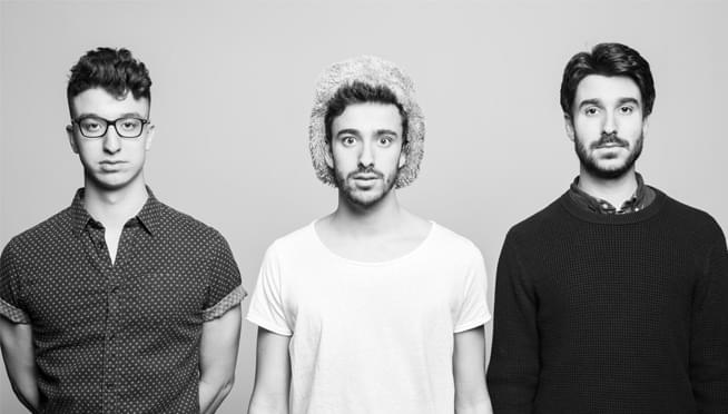 "Check out AJR playing ""Break My Face"" with just apps!"