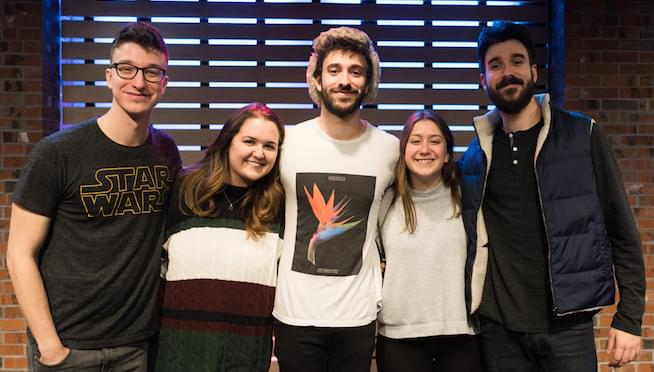 AJR in The Lounge