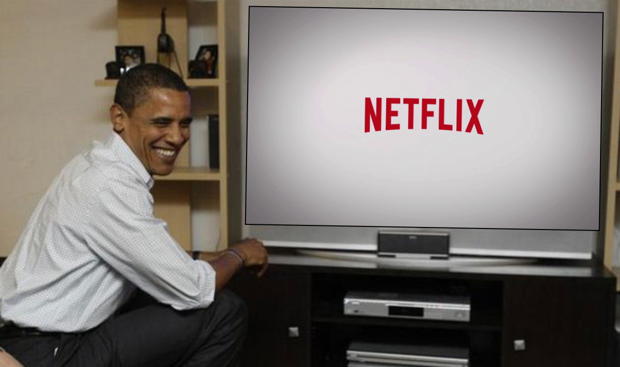 Netflix and Chill..with The Obamas?