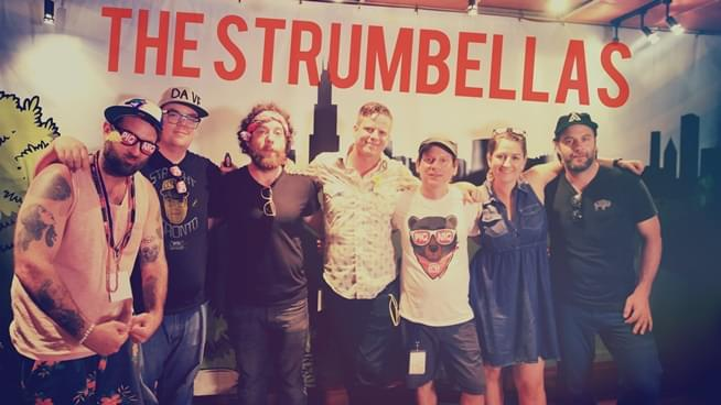 PIQNIQ Flashback: The Strumbellas perform a private set backstage
