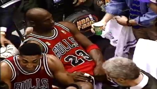 Scottie Pippen shares the tale of Michael Jordan's infamous 'flu game'