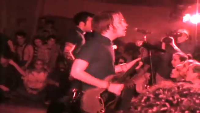 Before Wrigley Field, watch Fall Out Boy play a packed Knights Of Columbus in 2003