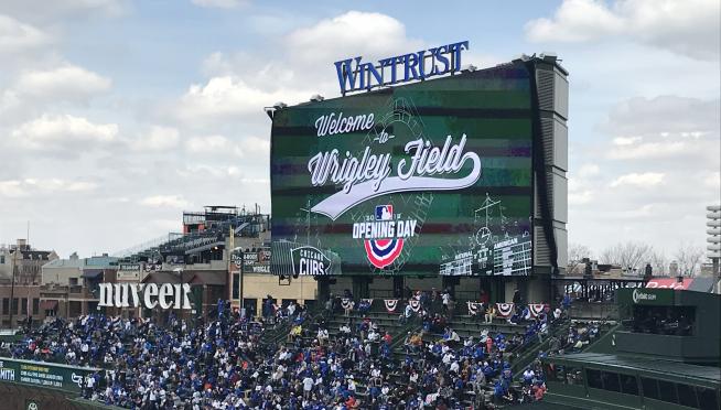 The best scoreboard message EVER