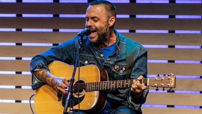 Justin from Blue October chat and acoustic performance