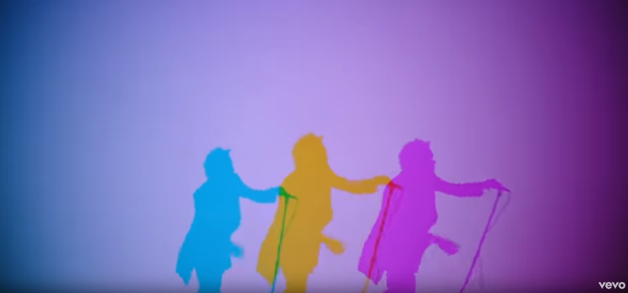 "The 1975's new video for ""Love it if we made it"""