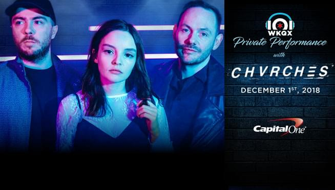 CHVRCHES releasing new EP, Hansa Session, on Friday ; Win your way into a Private Performance!