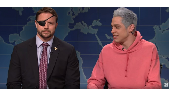 The perfect Pete Davidson apology happened on this Veterans Day weekend