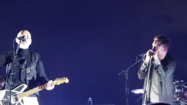 Watch Rise Against's Tim McIlrath join Smashing Pumpkins at TNWSC covering the Cars