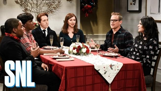 Weezer argument breaks out in a hilarious SNL sketch