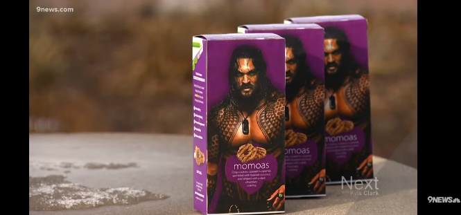 Girl Scout sells 'Momoa Samoas', and they're a big hit.