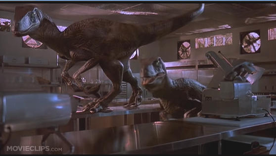 You wouldn't believed what animals having sex voiced Jurassic Park's Velociraptors