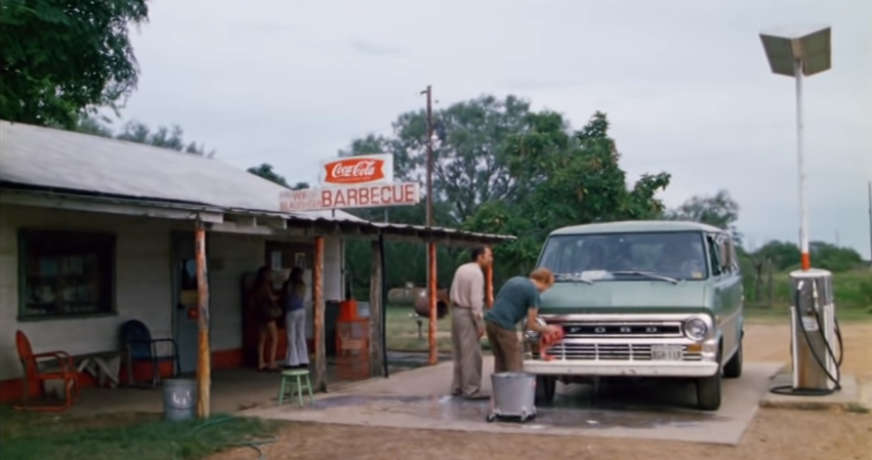 Eat and sleep at the original 'Texas Chainsaw Massacre' gas station.