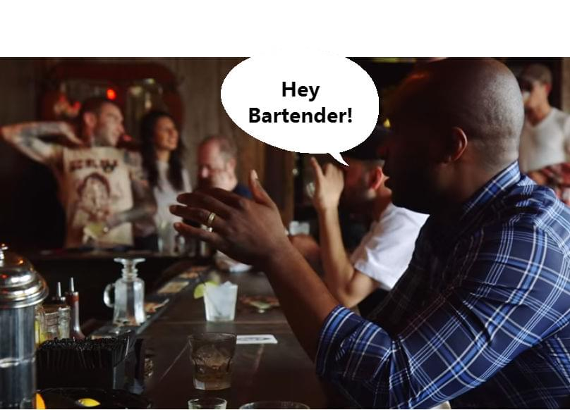 The weirdest conversations bartenders have overheard.