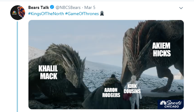 NBC Sports Chicago should not post memes