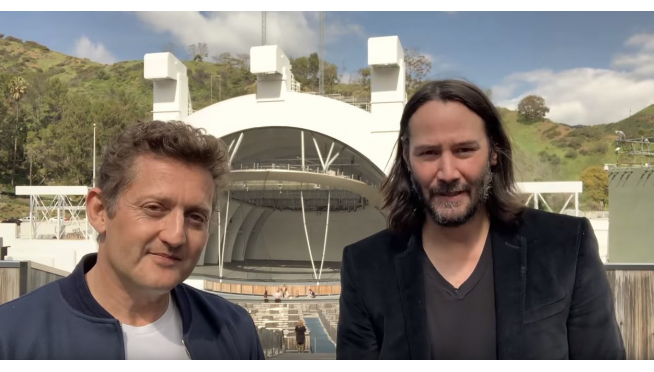 Keanu Reeves and Alex Winter confirm Bill & Ted 3